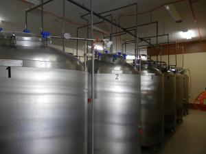 ビール醸造用タンク