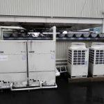 氷蓄熱ユニット設置状況